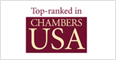 Top-ranked in Chambers USA